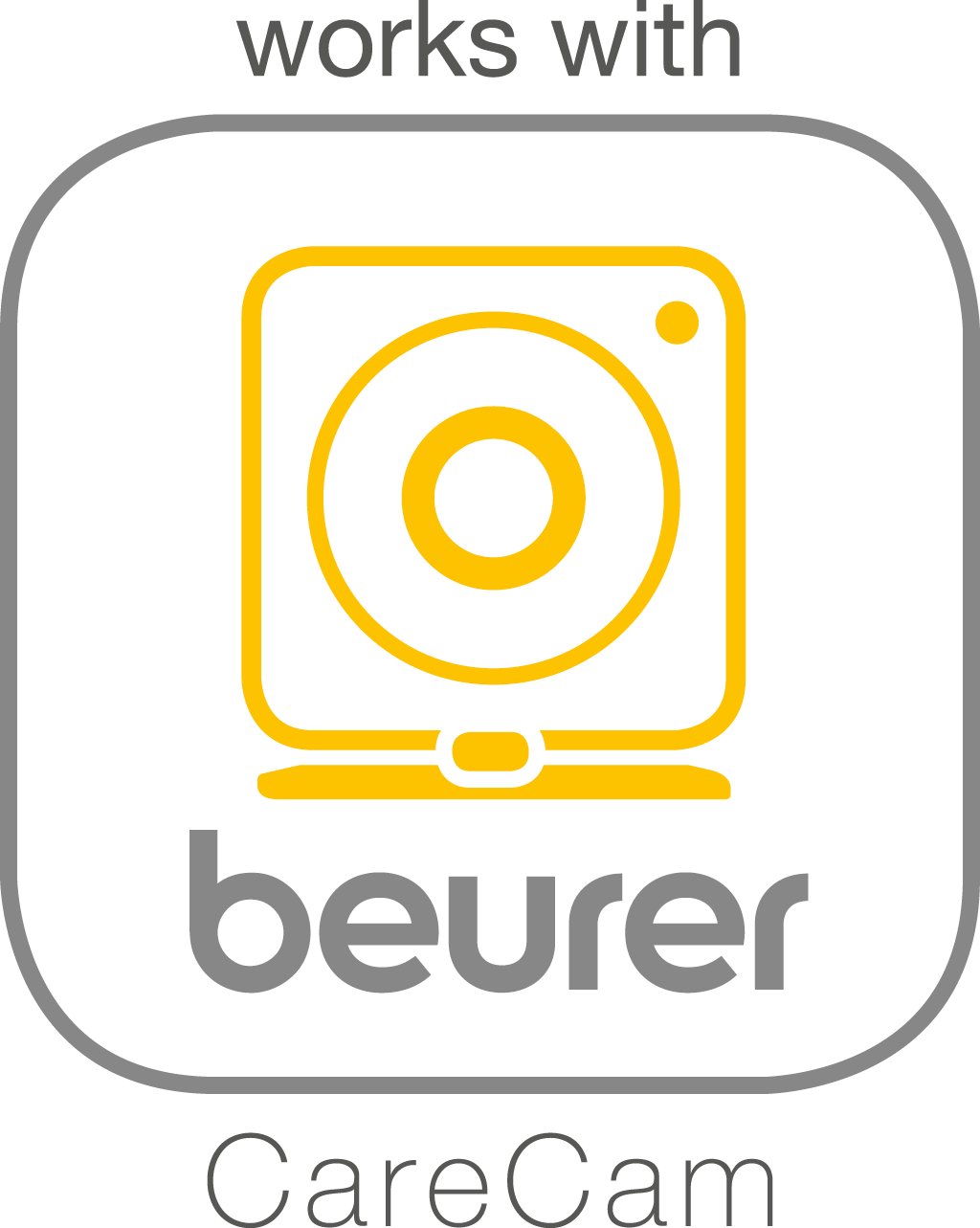 Compatible avec l'application « beurer CareCam »
