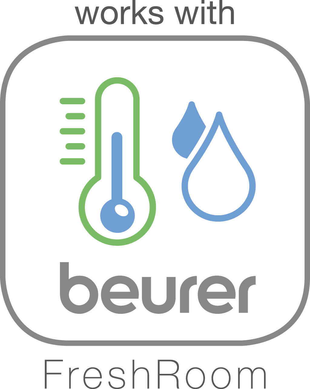 "Compatible with the ""beurer FreshRoom"" app"
