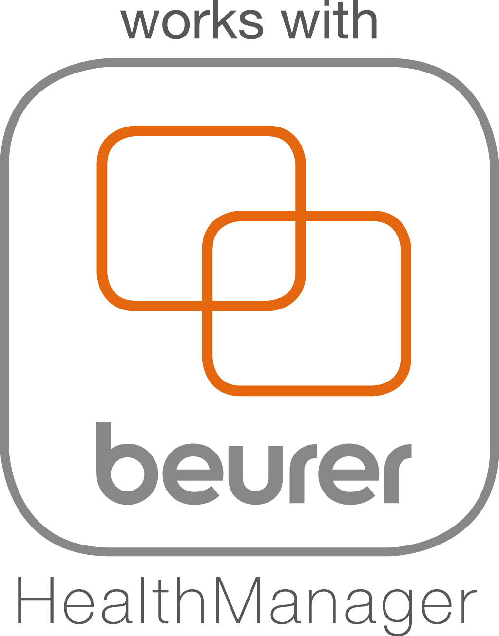 "Compatible with the ""beurer HealthManager"" app Modern, networked health management! Beurer's specially developed 'beurer HealthManager' app enables you to keep an eye on your data at all times – from blood pressure and blood glucose to activity, heart rate, oxygen saturation and weight."