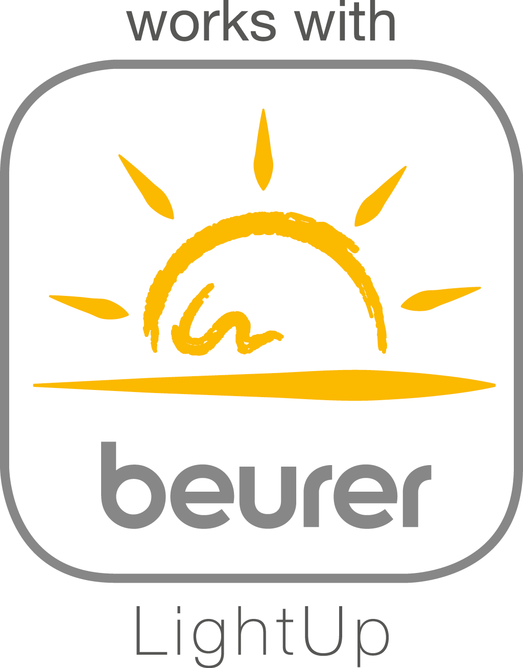 "Compatible with the ""beurer LightUp"" app"