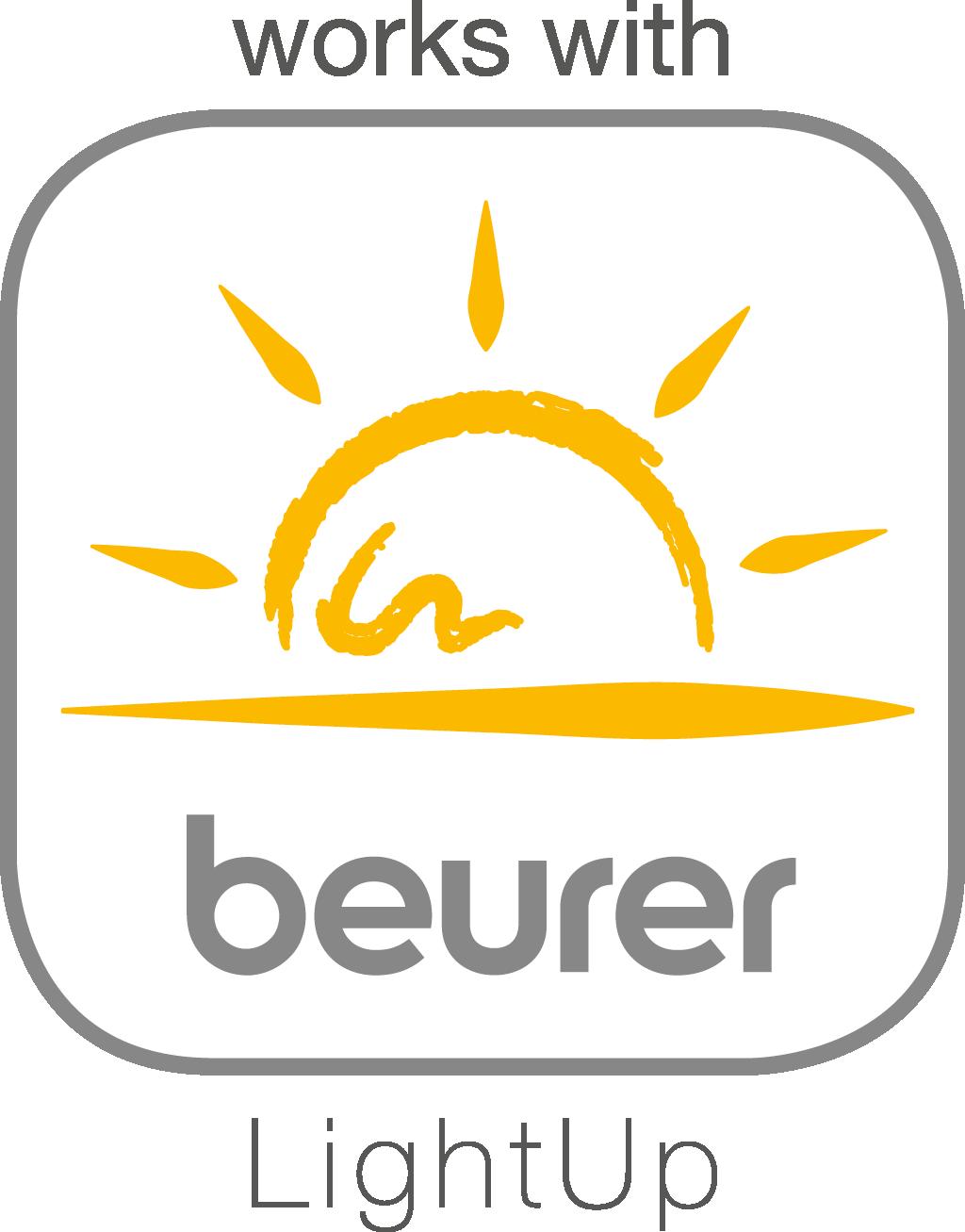 """Compatible con la app """"beurer LightUp"""""""