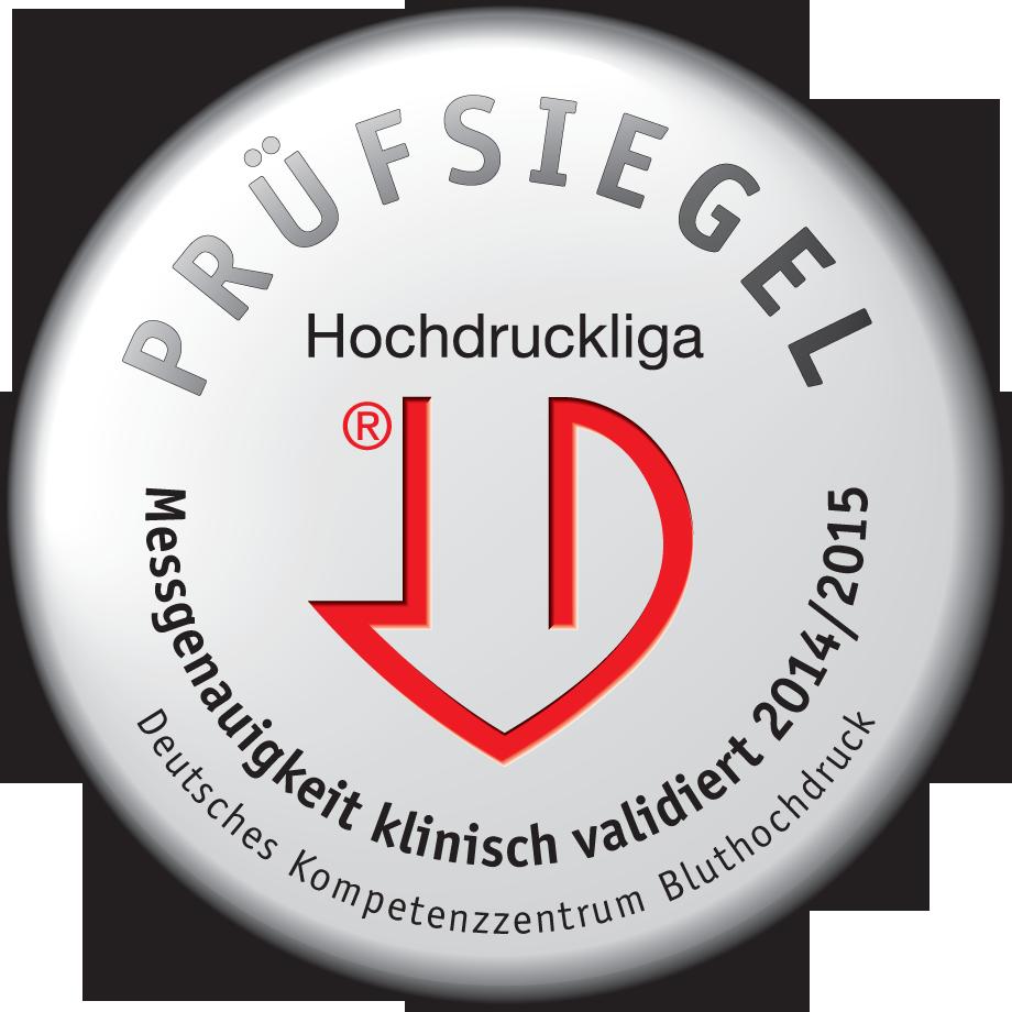 <p>Этот прибор для измерения кровяного давления получил высокую оценку Deutsche Hochdruckliga (Немецкого общества поборьбе сгипертонией)</p>