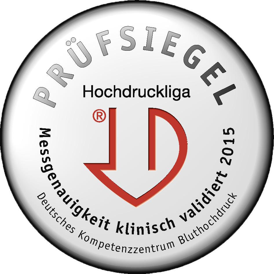 El tensiómetro fue premiado por la Liga Alemana de Hipertensión