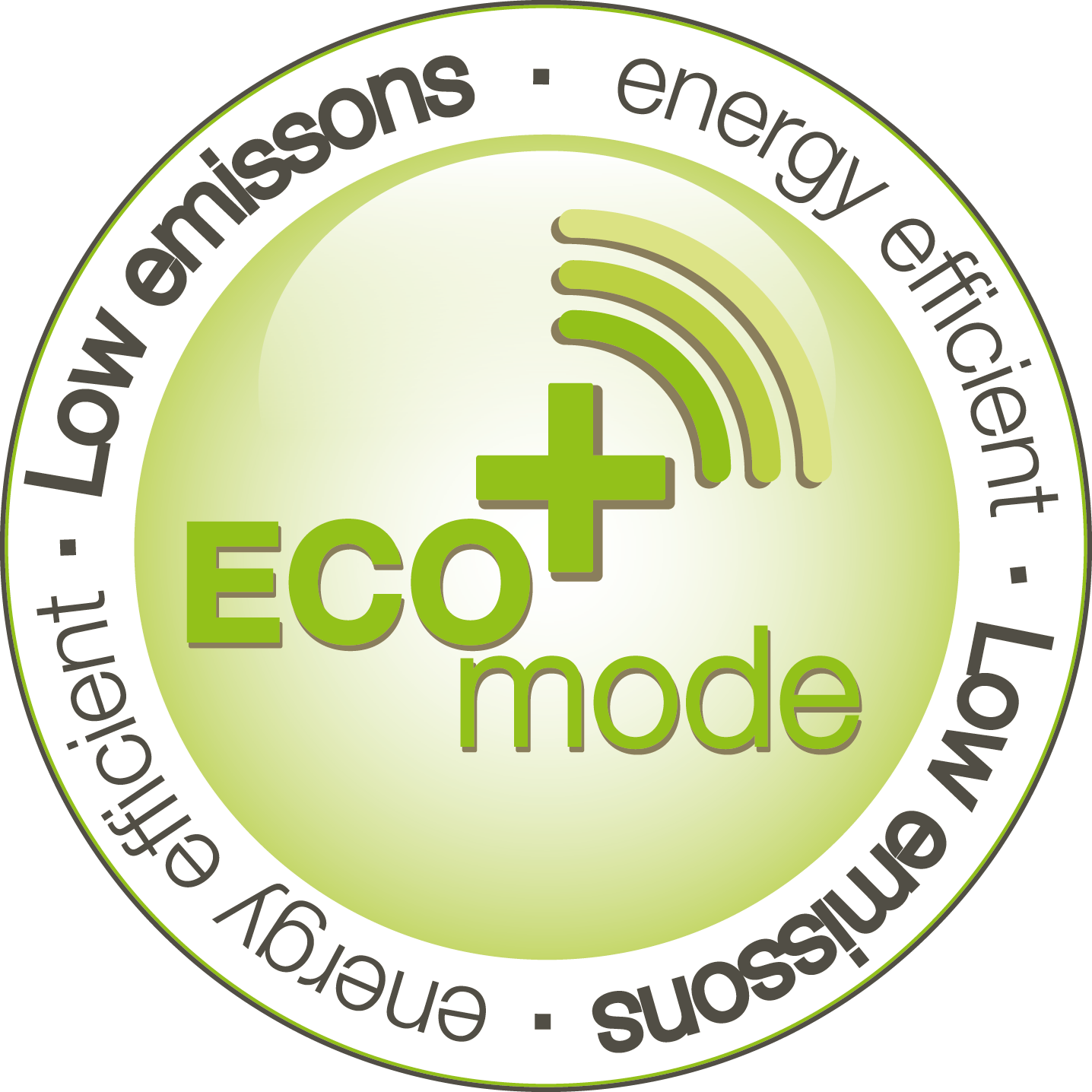 ECO+ mode  ECO+ mode for low-emission and energy-efficient transmission