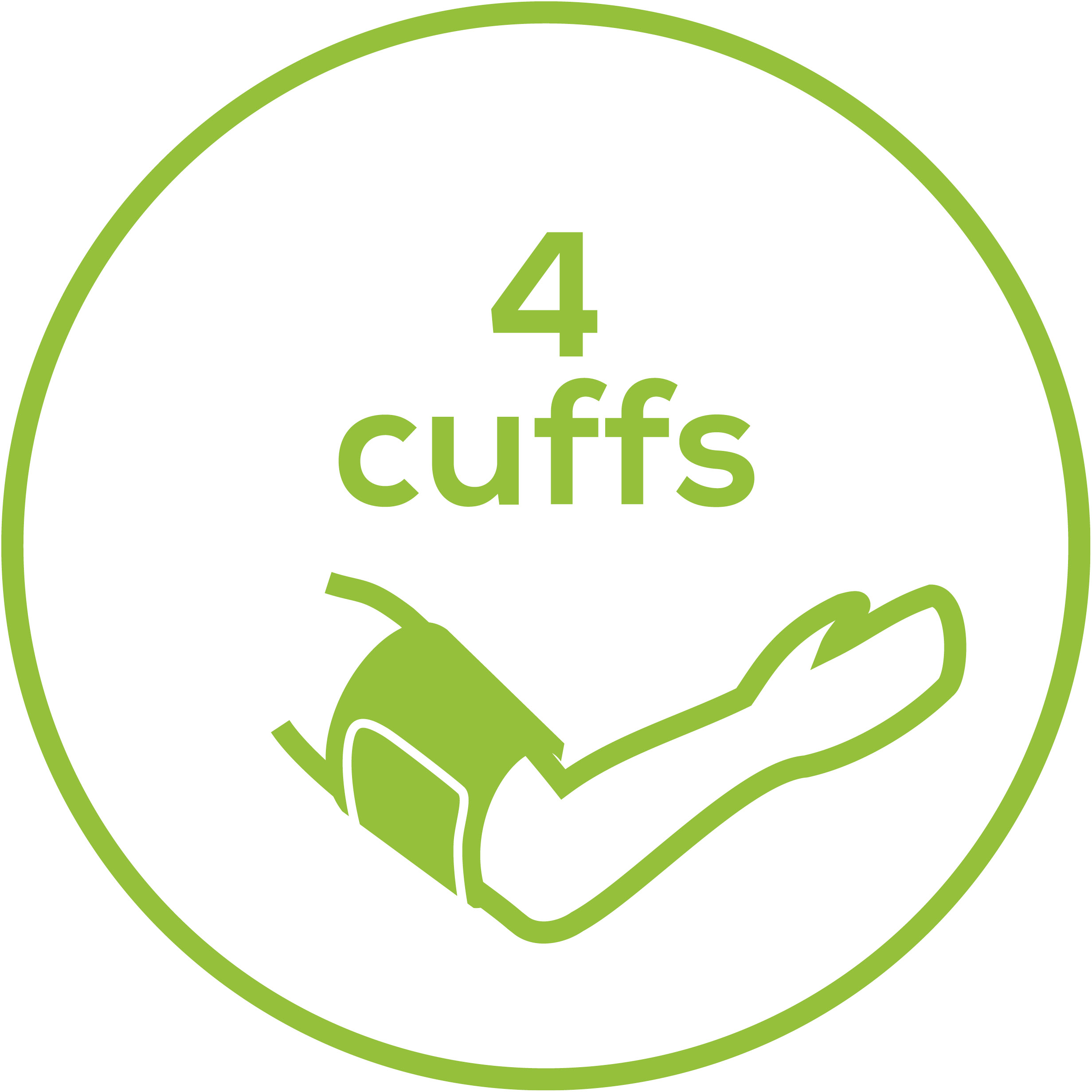 Cuffs 4 Cuffs for arms and legs