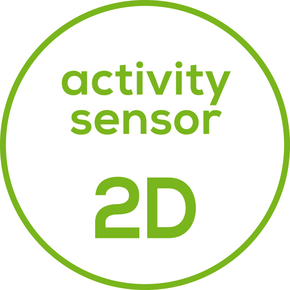 2D sensor With multi-dimensional sensor