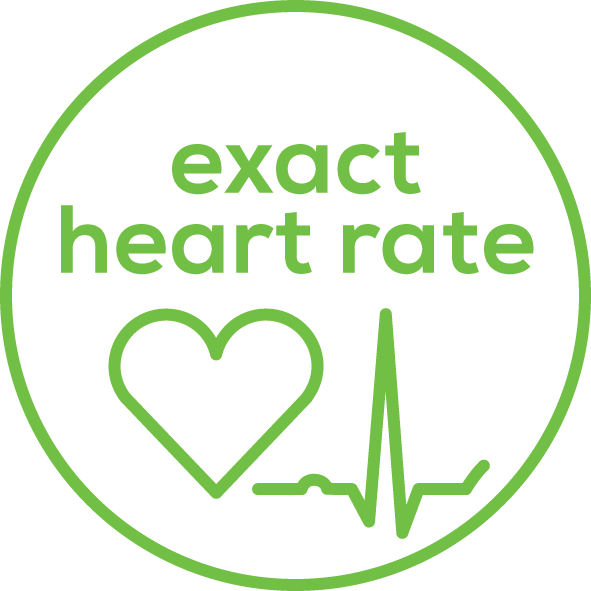Heart rate measurement Enables an accurate ECG heart rate measurement