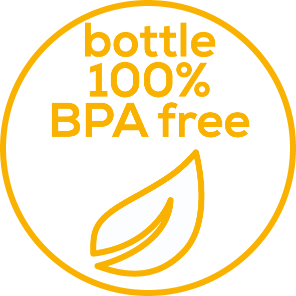 Completely BPA-free The bottle is completely free of BPA