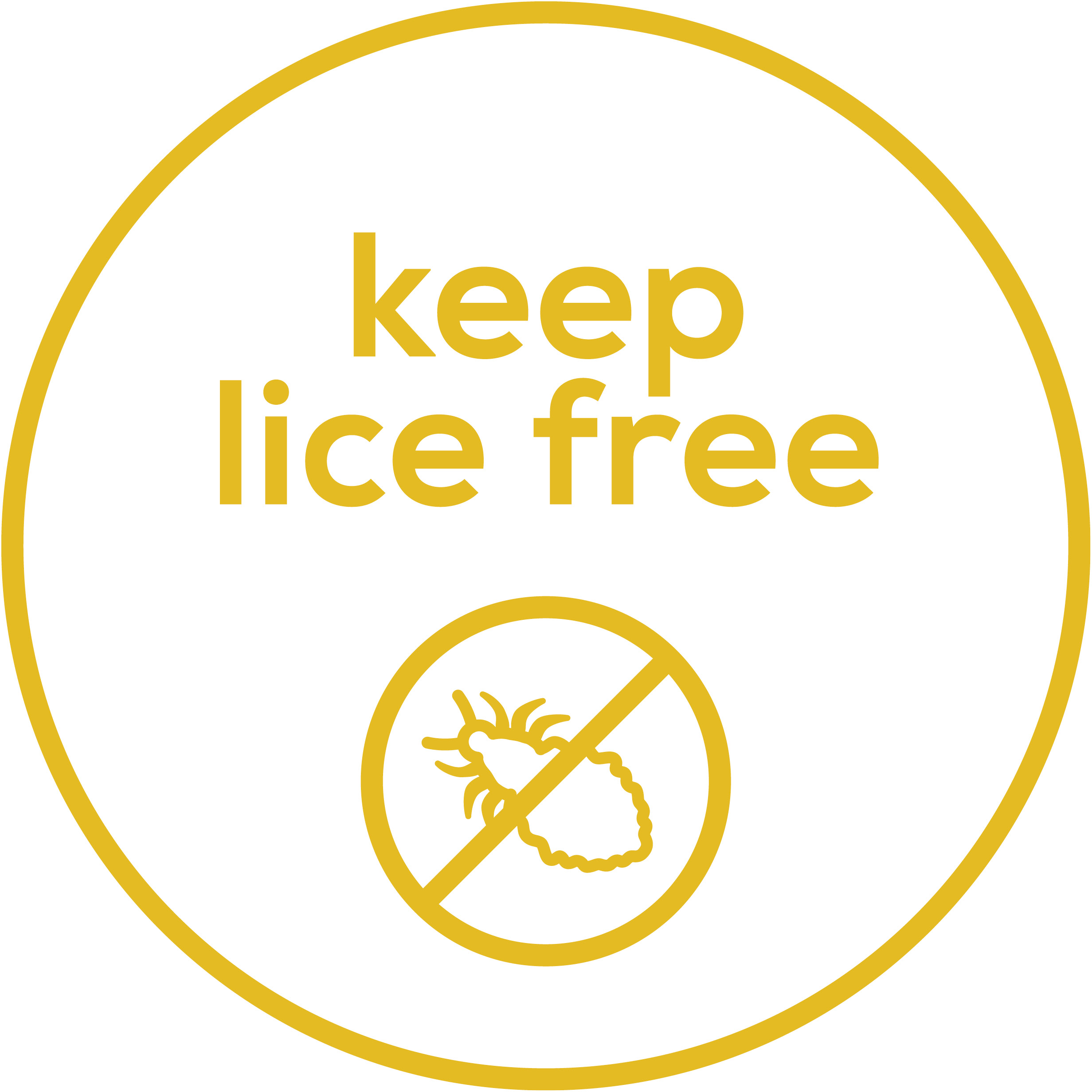 Lice free  Rids the scalp of hair lice and their nits