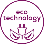 ECO technology Maximum performance with minimum energy consumption