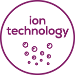 Ion technology Sleek and shiny hair