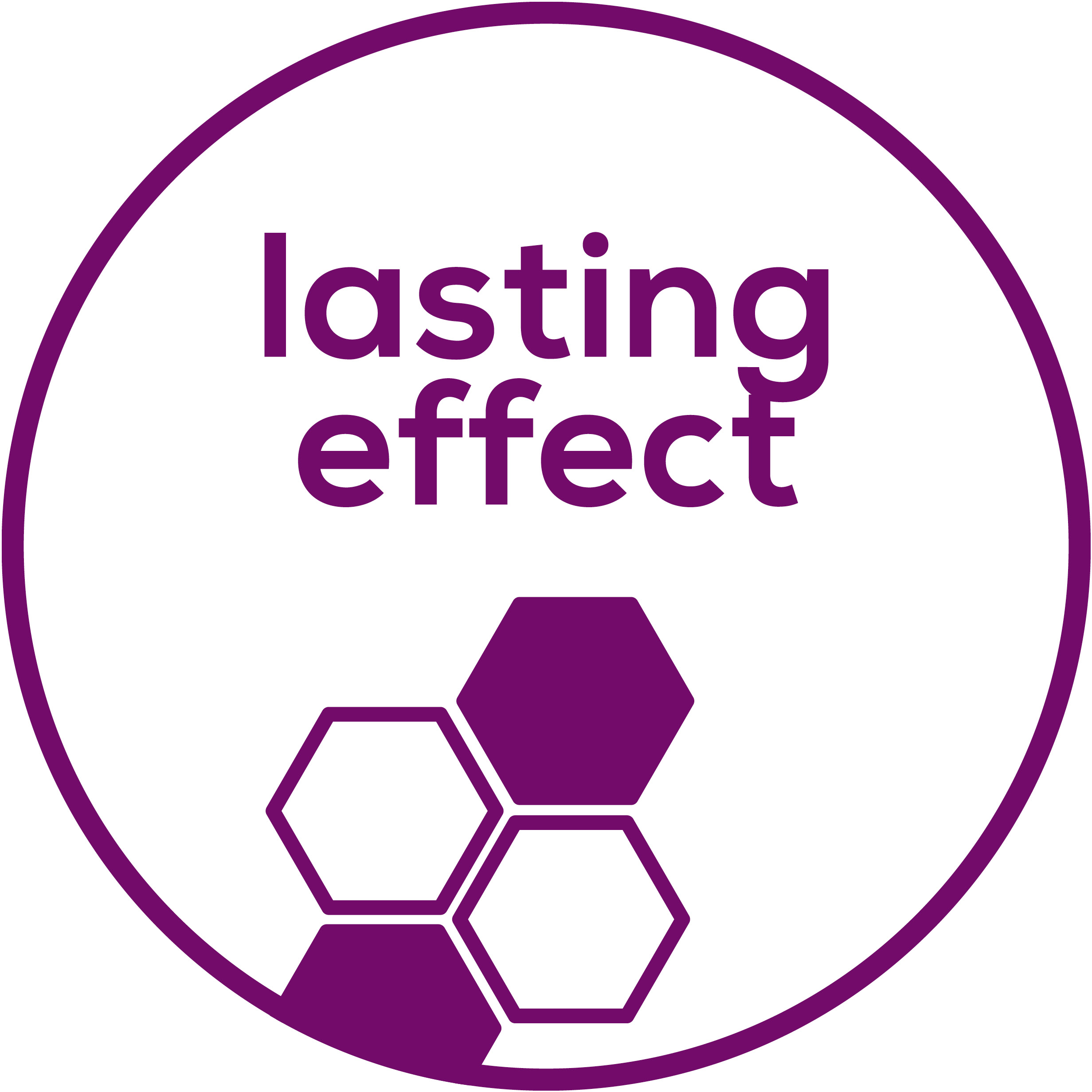 Lasting effect Improves visible unevenness