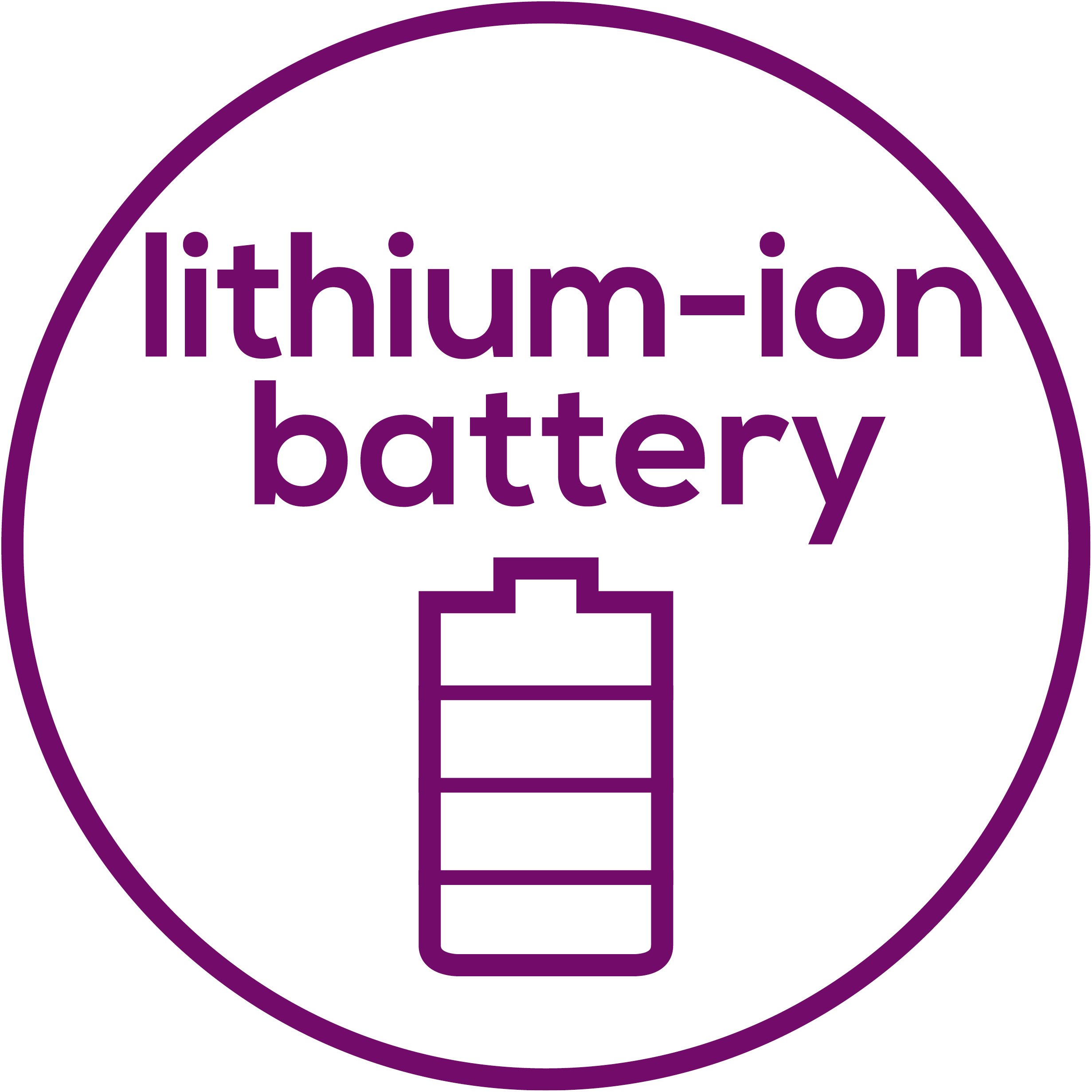 Lithium ion battery High-performance lithium-ion battery