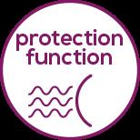 Función de protección Protege el cabello y conserva el brillo del color