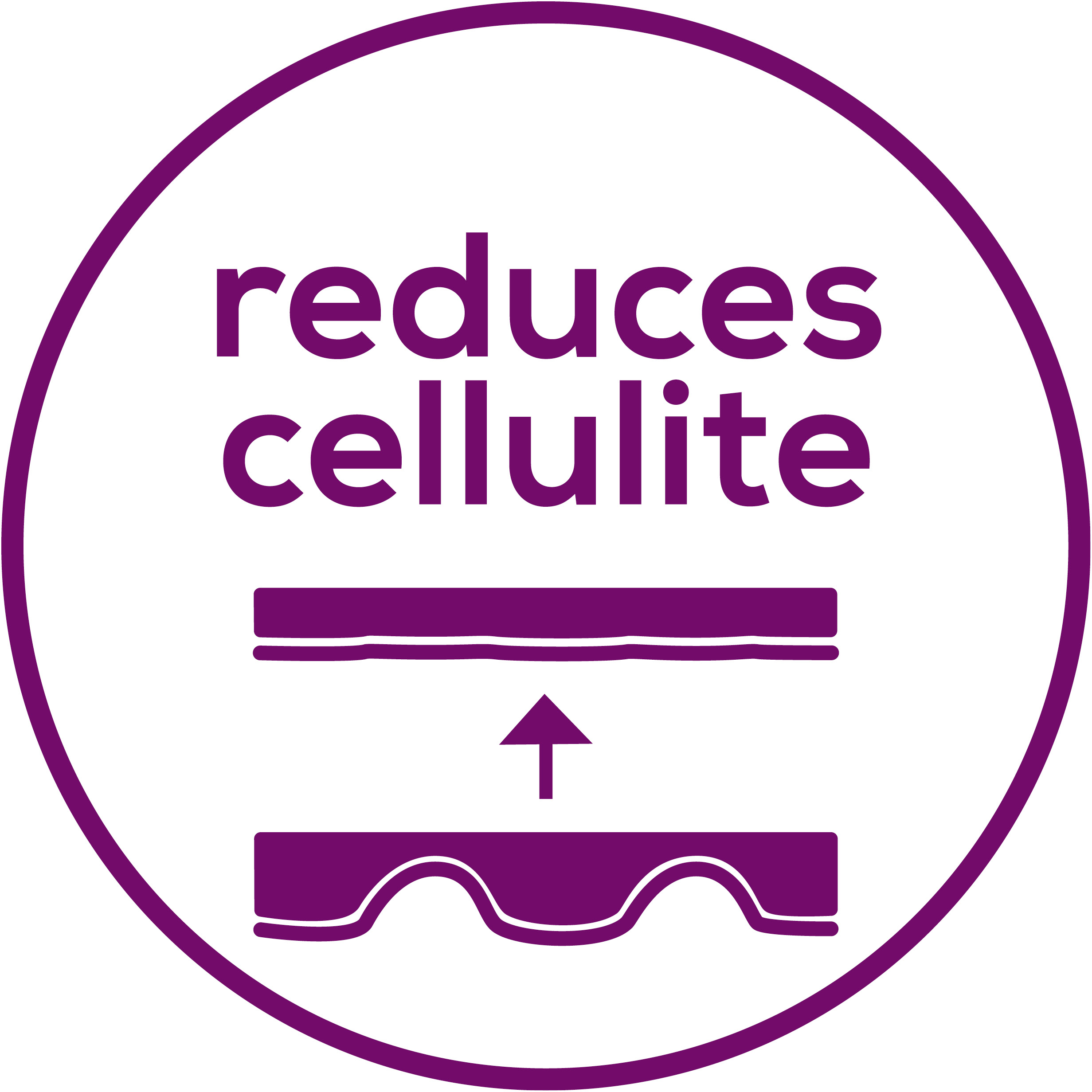 Reduces cellulite Dimples are less visible
