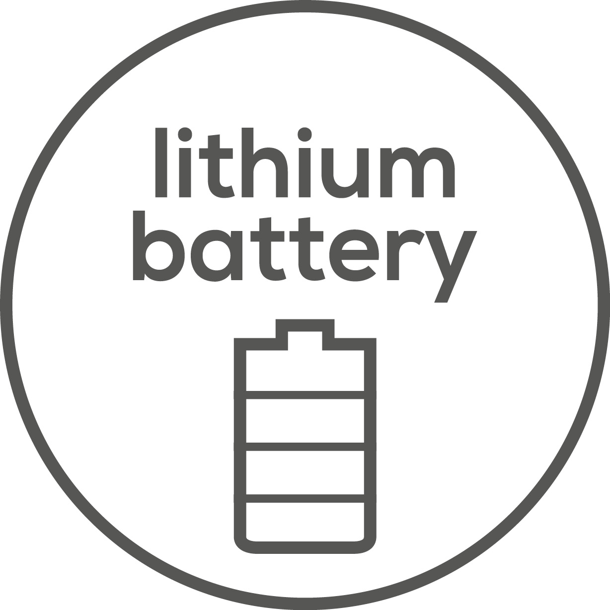 Powerful lithium battery The device has a powerful lithium battery