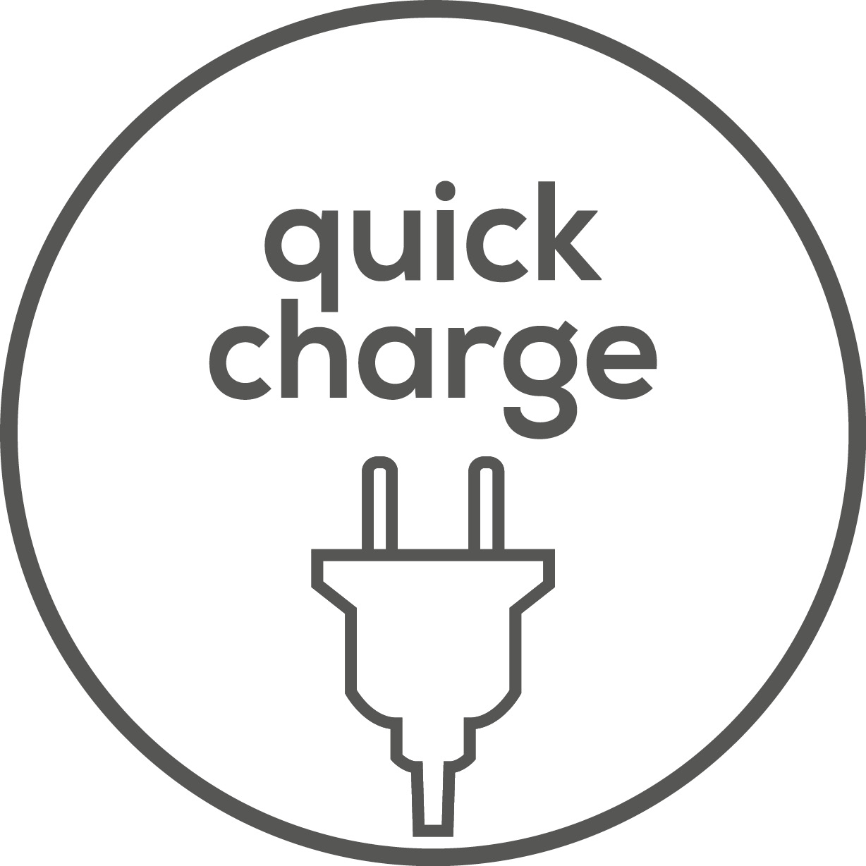 Quick-Charge-Funktion Integrierte Quick-Charge Funktion