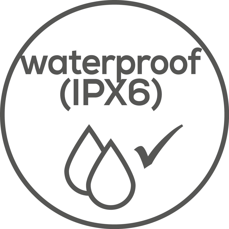Resistente al agua El producto es impermeable