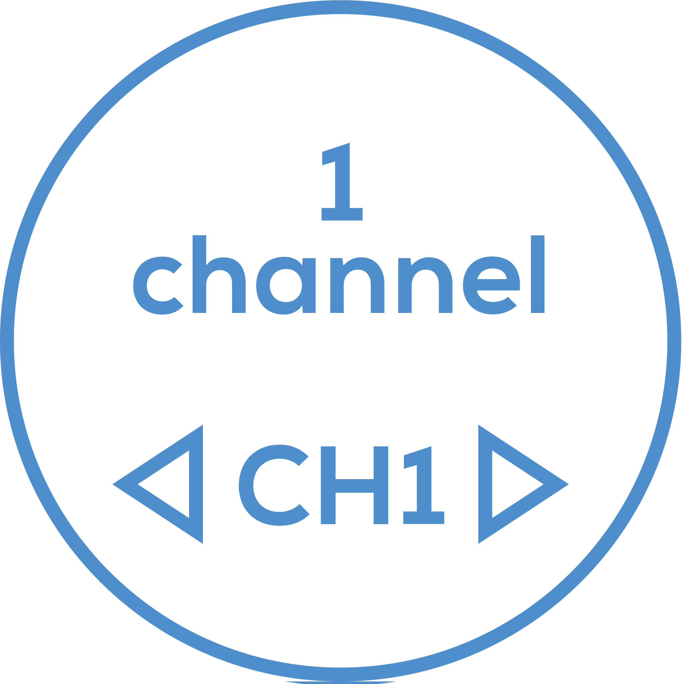 Channel The device has one adjustable channel