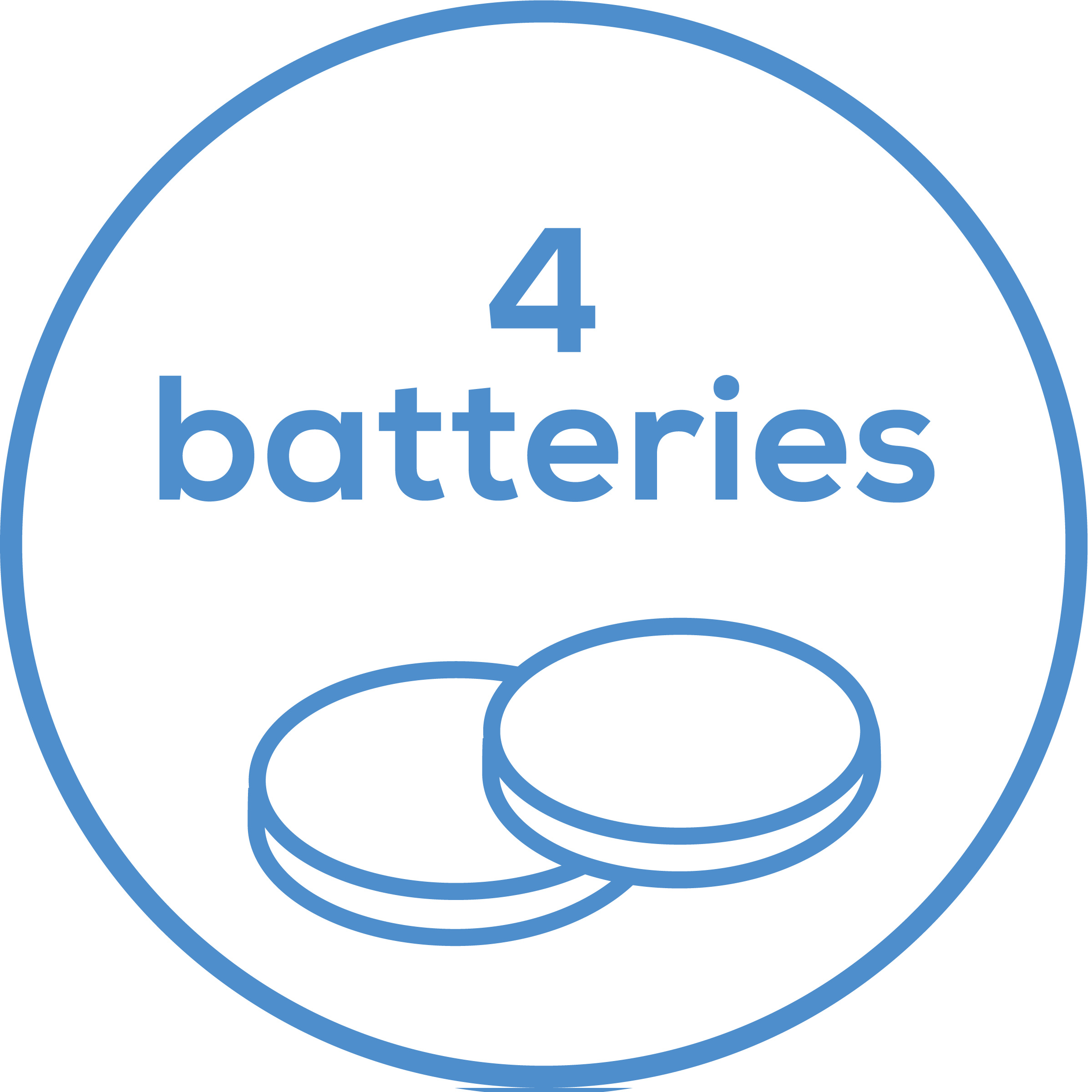 Accessories Includes 4 x 1.4 V PR70/A10 battery