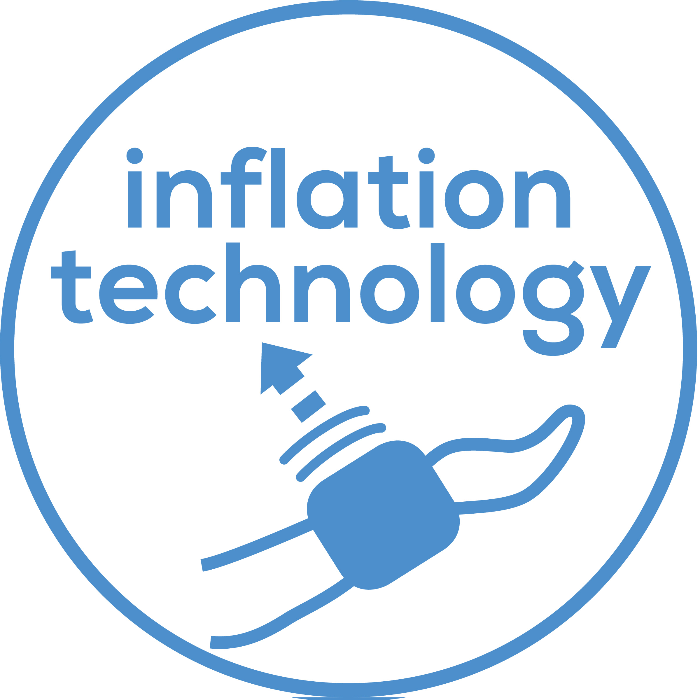 Inflation technology Fast and convenient measurement which is already taken while the cuff is being inflated