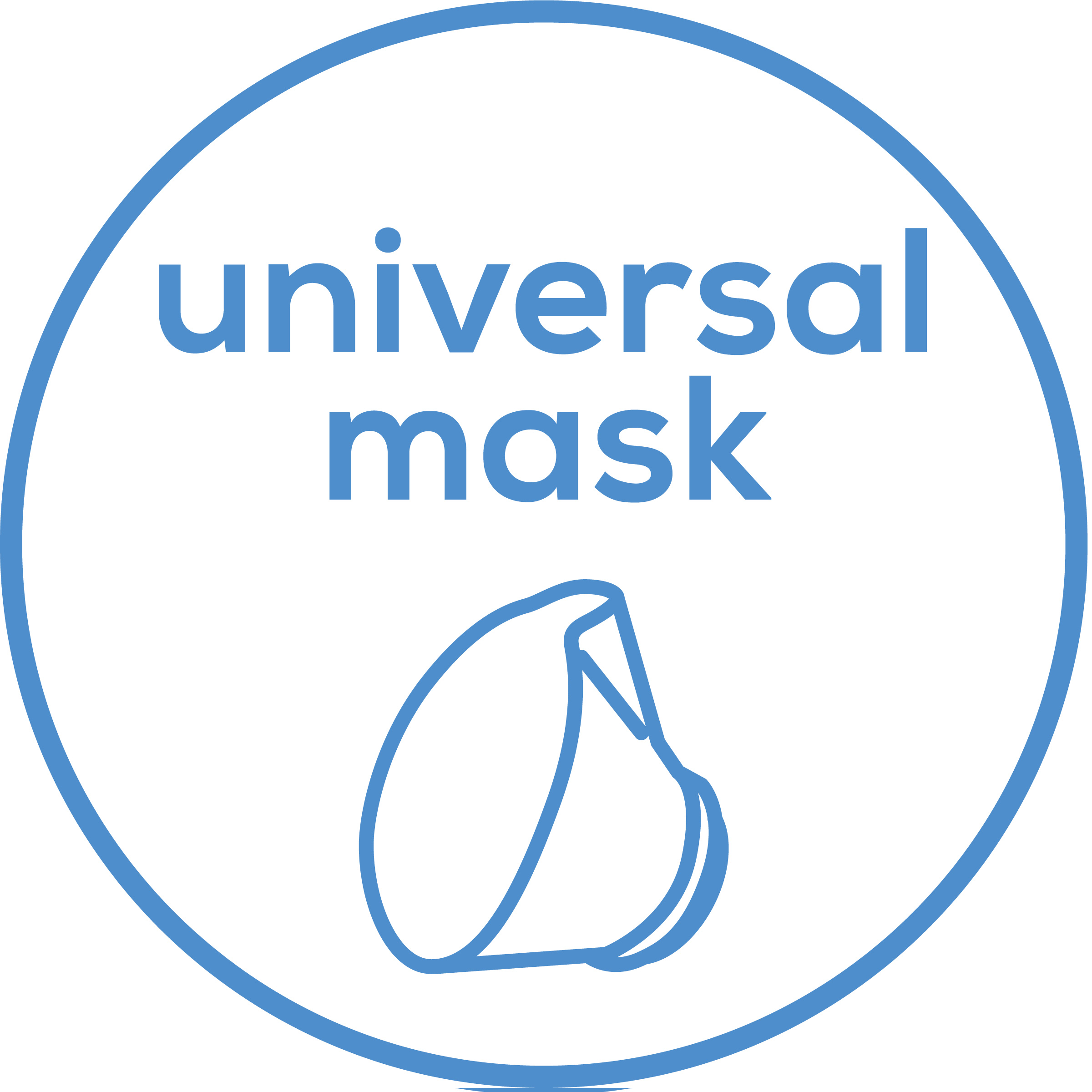 Accessories Includes flexible universal mask for the mouth and nose