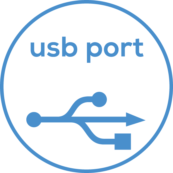 USB connection Transfer to PC