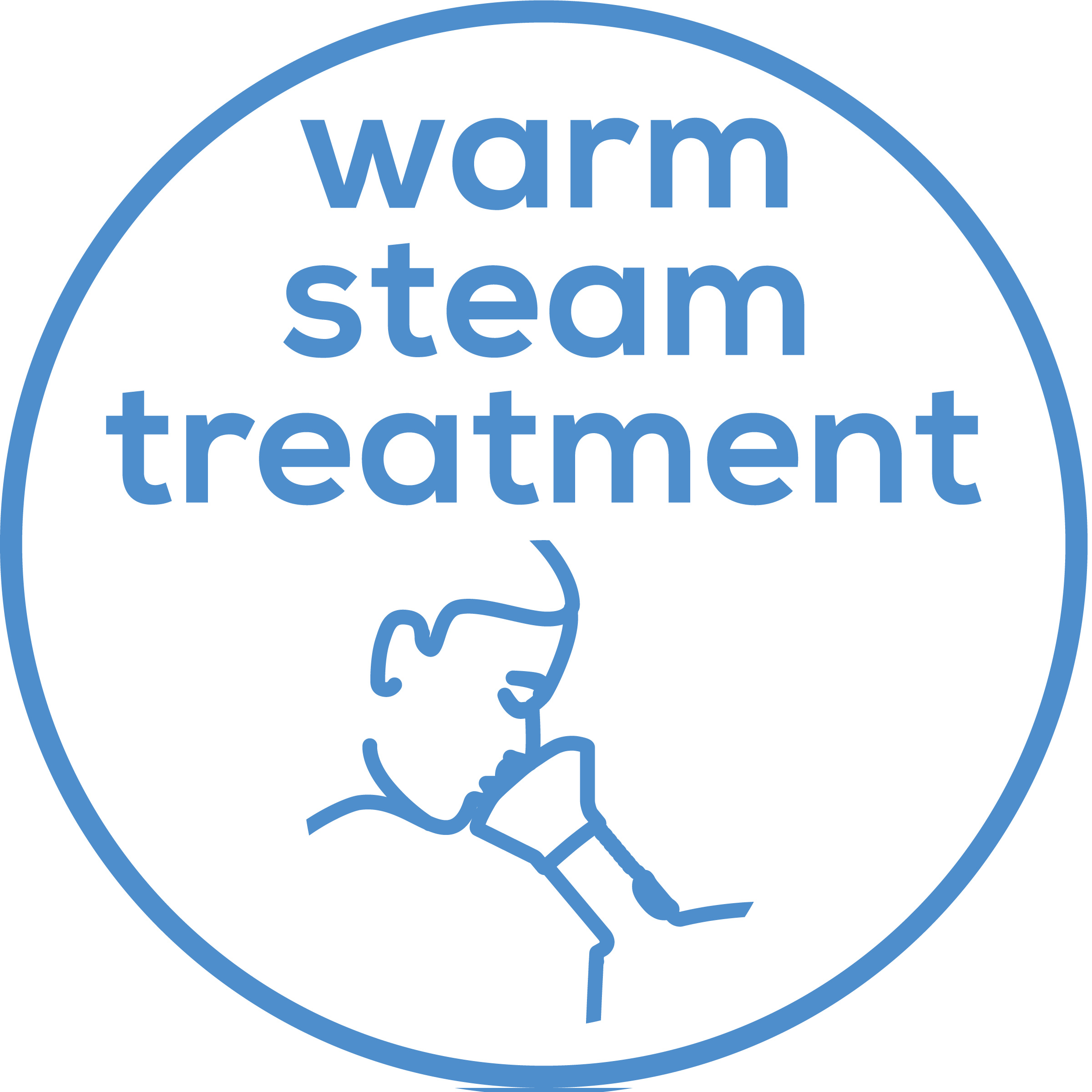 Warm steam treatment Soothing treatment during the cold season