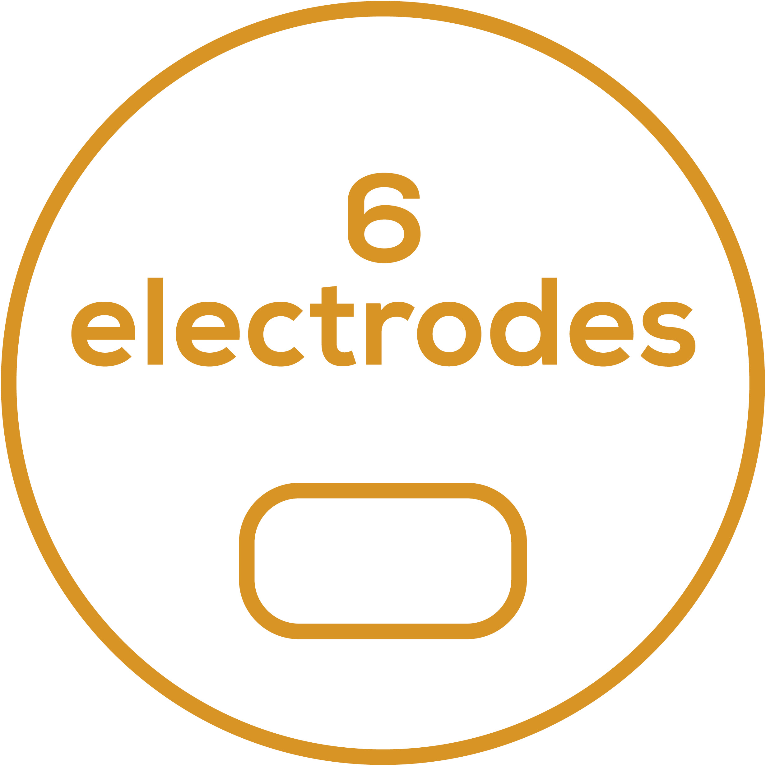 Accessories 6 self-adhesive electrodes