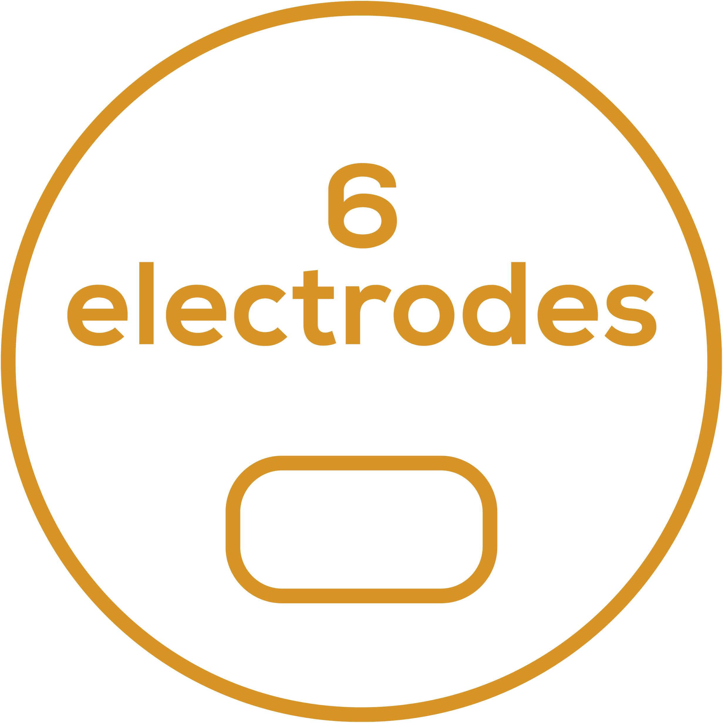 Аксессуары 6 самоклеящихся электродов