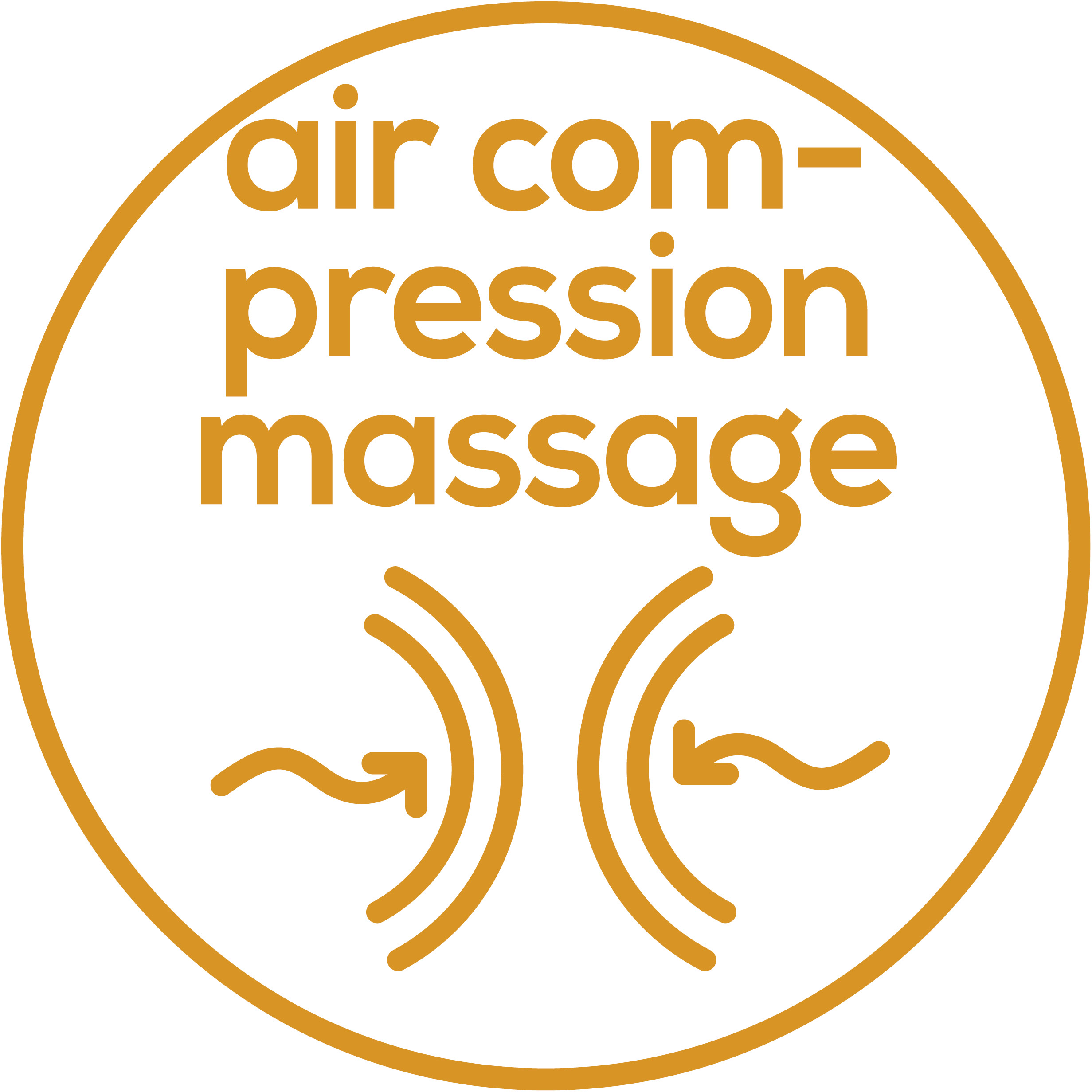 Air compression massage 3 intensity levels