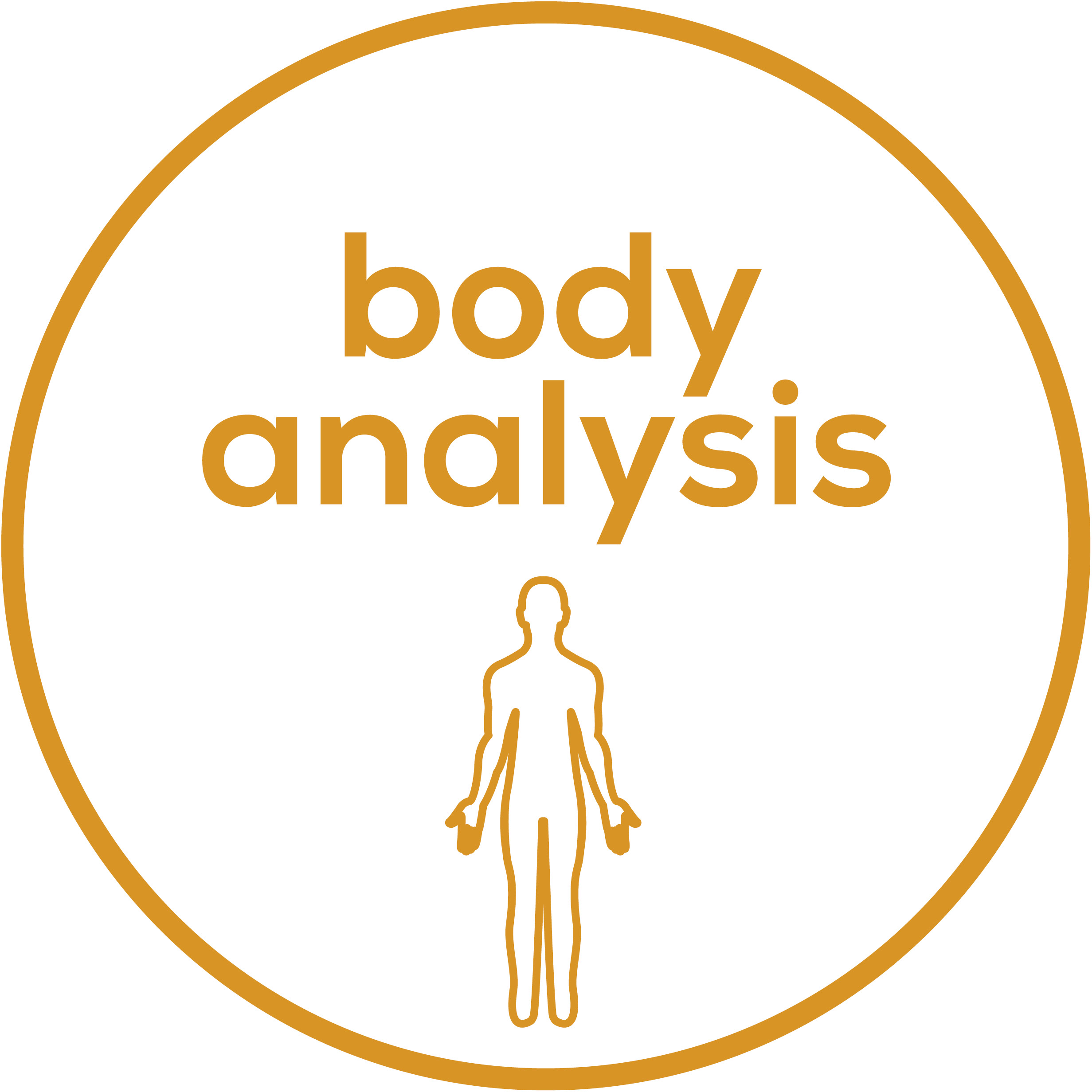 Body analysis Weight, body fat, body water, muscle percentage, bone mass; calorie display