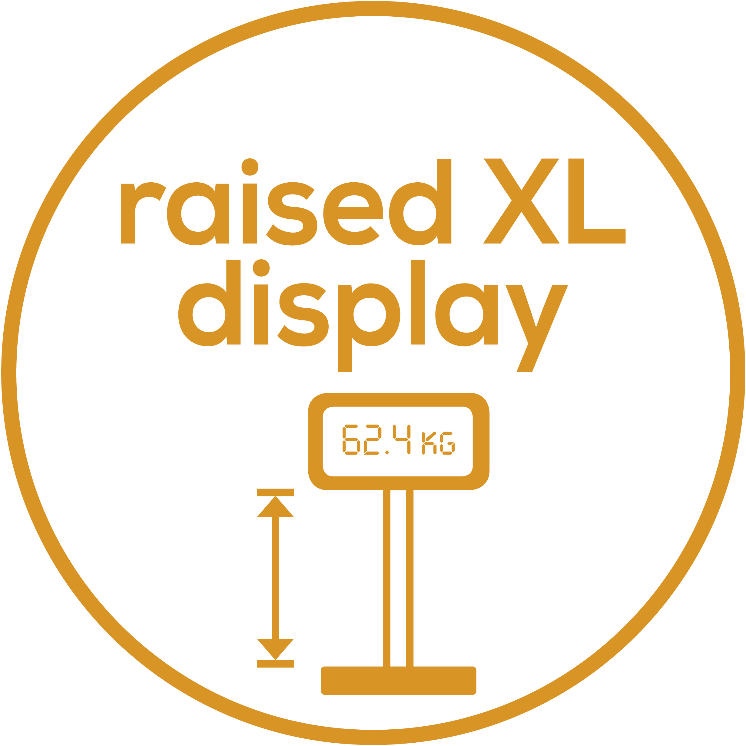 Raised matrix display Raised dot matrix display on an aluminium<br />