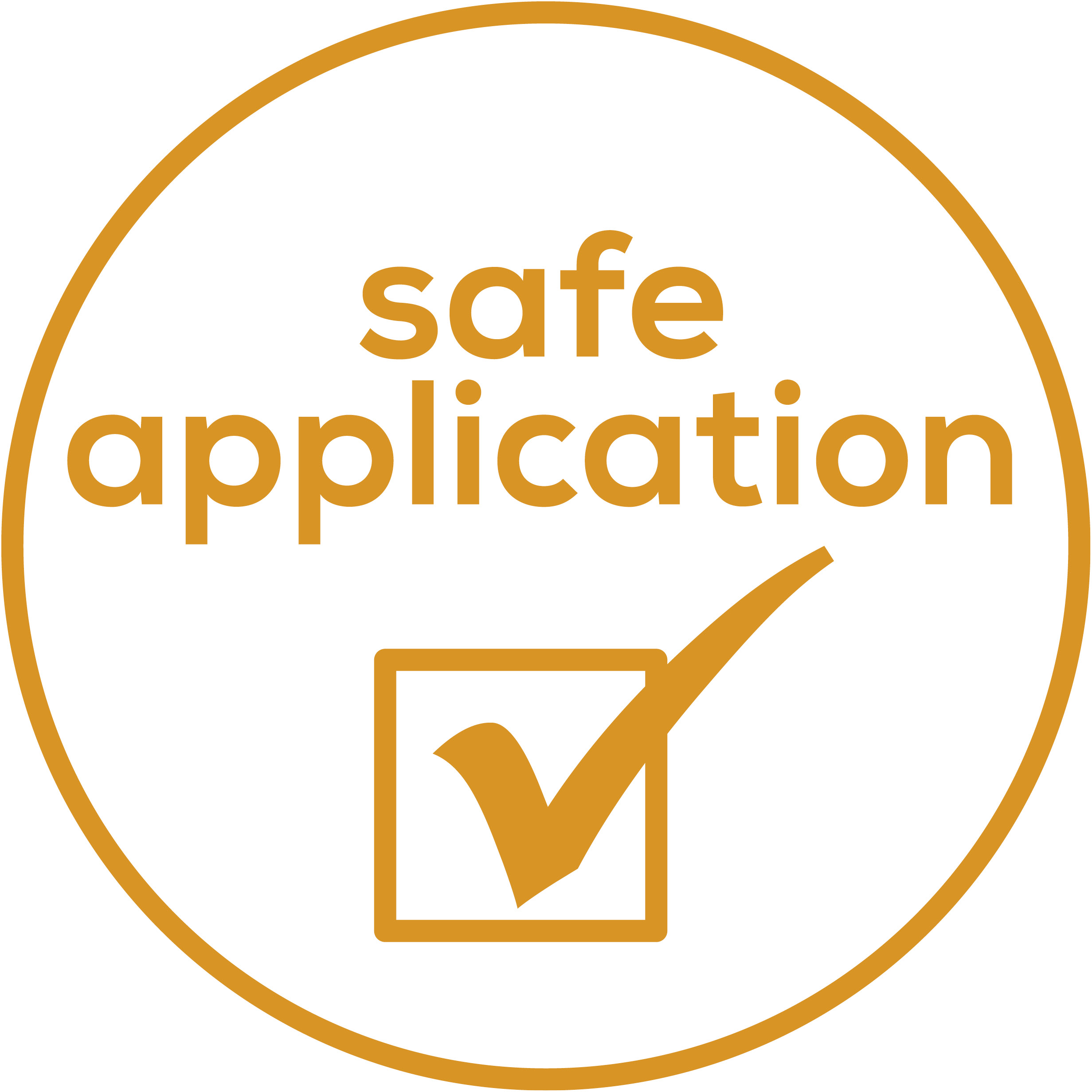 Safe application Integrated safety switch-off