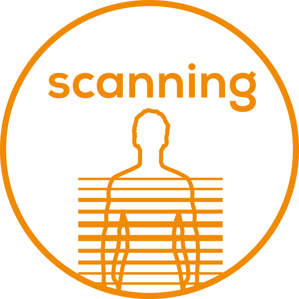 Body scanning function Automatic body scanning function