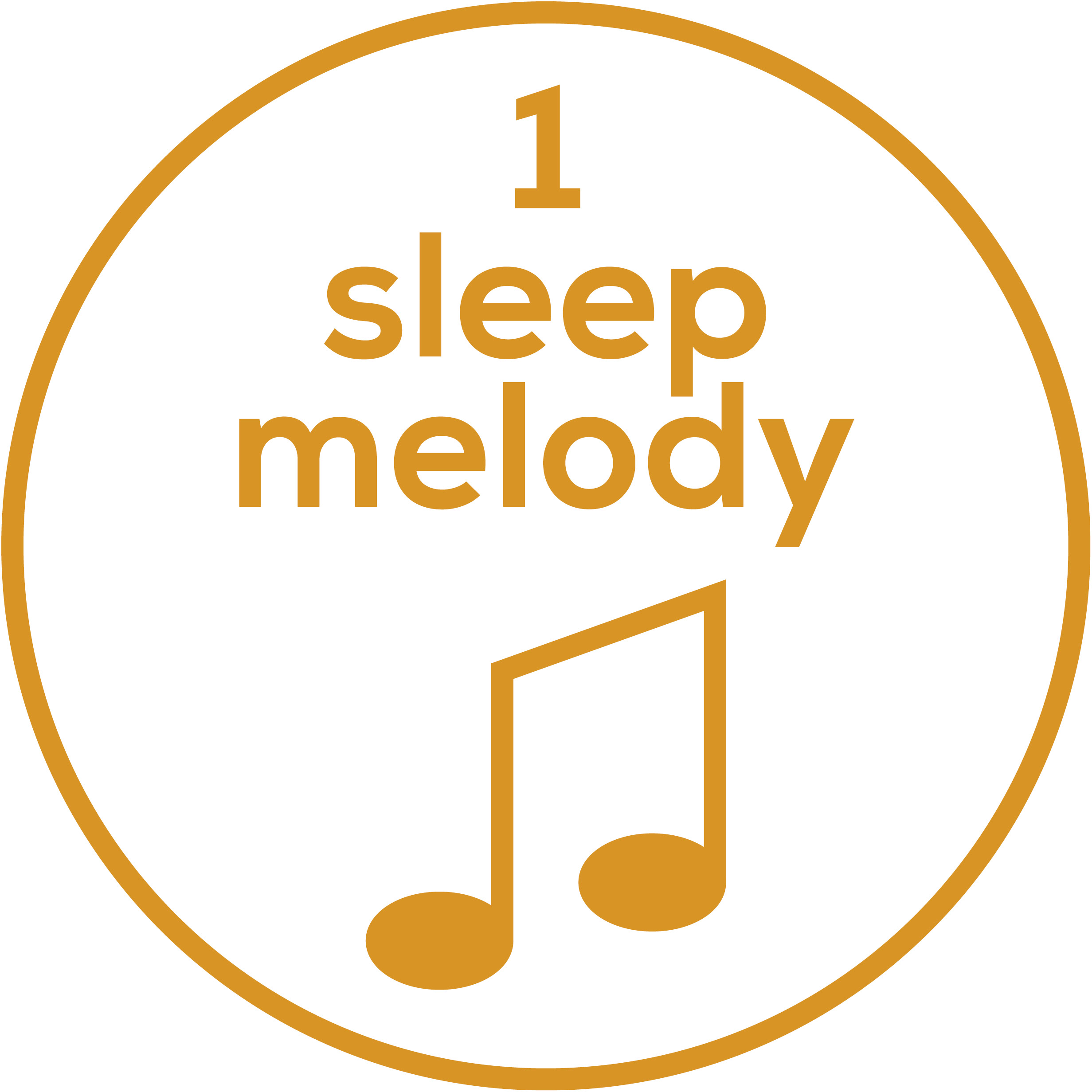 Melody selection 1 sleep melody