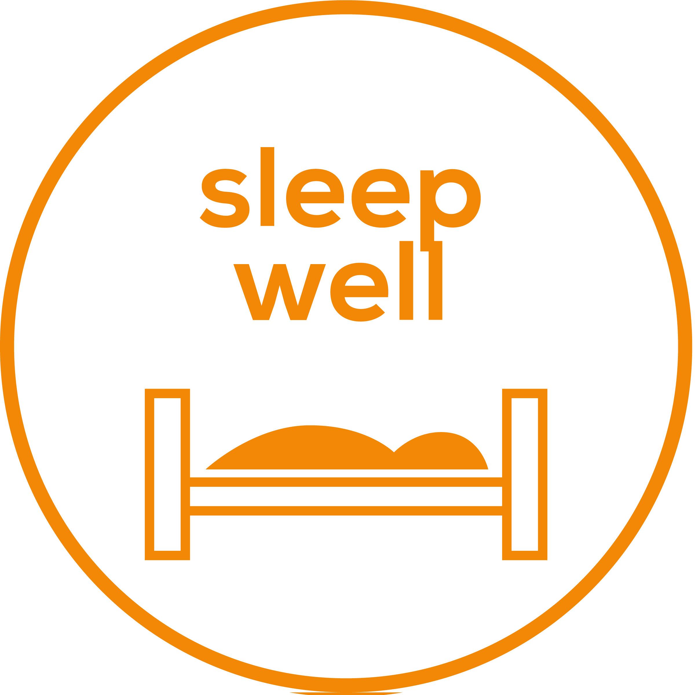 Sueño de calidad Para apoyar un ritmo respiratorio consciente