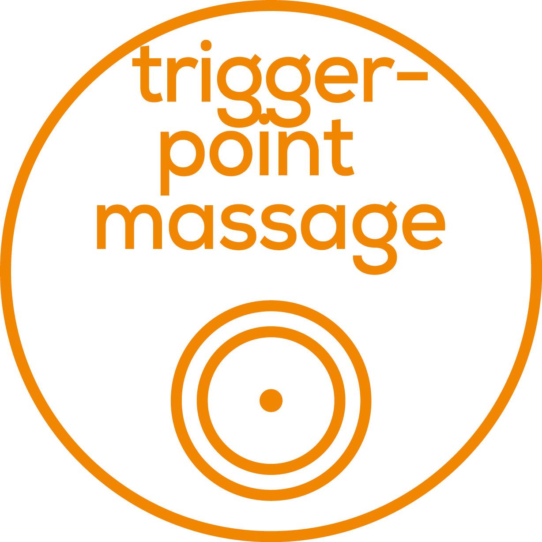 Massage des points de déclenchement Vibrante pour un massage ciblé des points de déclenchement