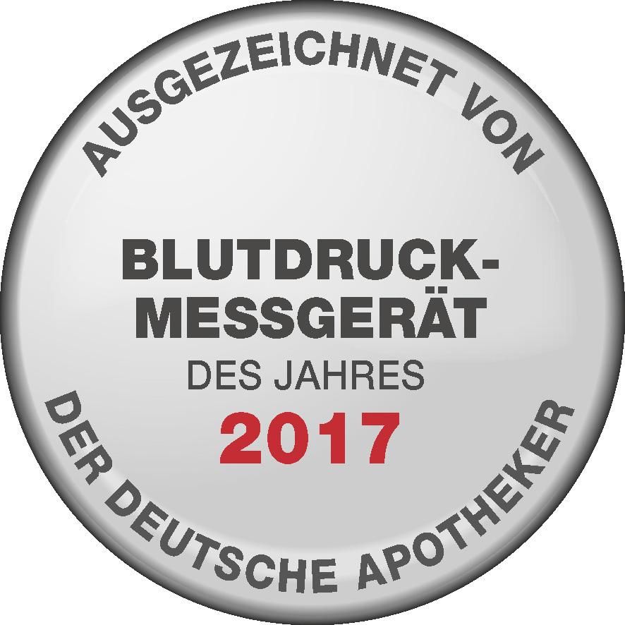 "Bundesverband Deutscher Apotheker e.V. (Federal Association of German Pharmacists). The BM 55 blood pressure monitor was chosen as ""BLOOD PRESSURE MONITOR OF THE YEAR"" in 2017 by the Bundesverband Deutscher Apotheker e.V. (Federal Association of German Pharmacists)"