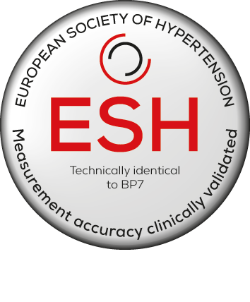Recognised by the European Society of Hypertension. Technically identical to BP7