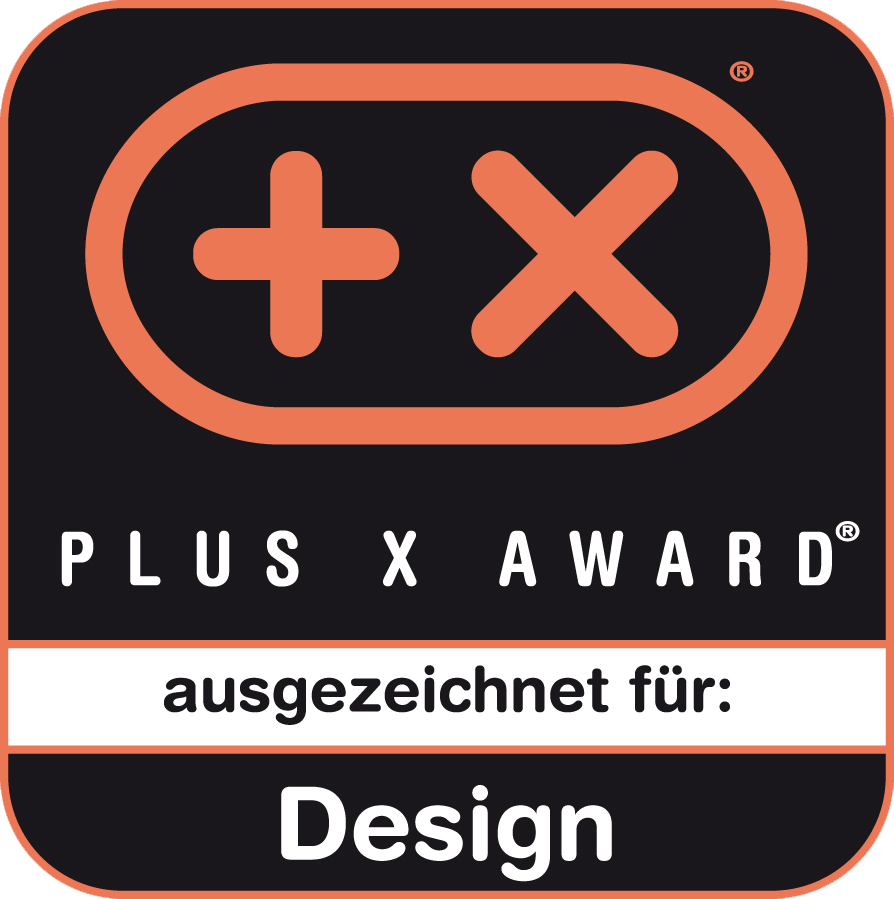 Riconoscimento Plus X Award per design