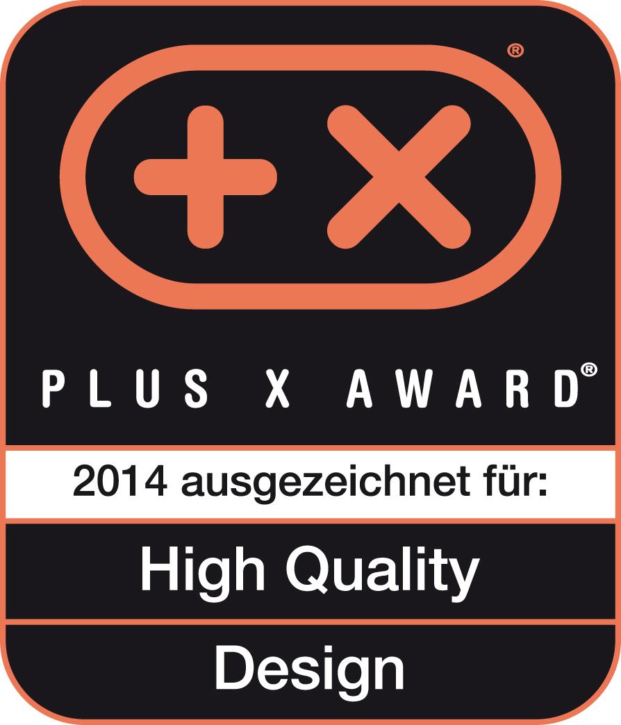 Nagroda Plus X Award za wysoką jakość i wzornictwo