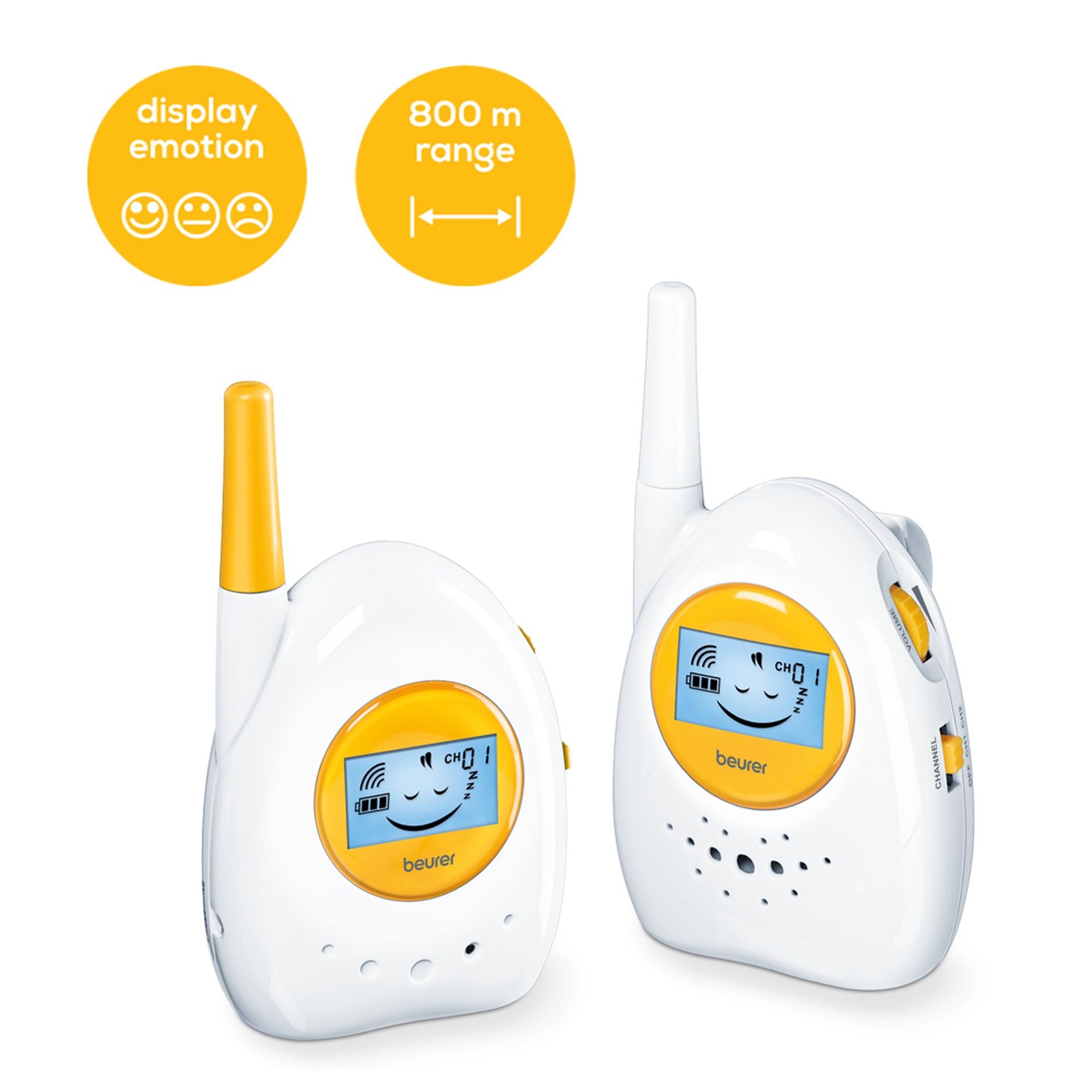 d7d248567e7 BY 84 - Analogue baby monitor | beurer