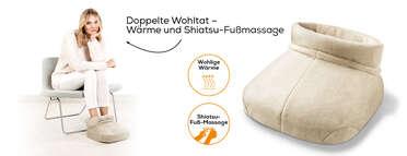 Beurer Shiatsu-Fußwärmer FWM 50 Produktbild