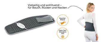 Beurer Bauch-/Rücken-Heizkissen HK 49 Cosy Produktbild