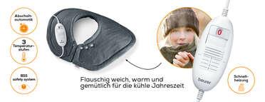 Beurer Schulter-/Nacken-Heizkissen HK 54 Cosy Produktbild