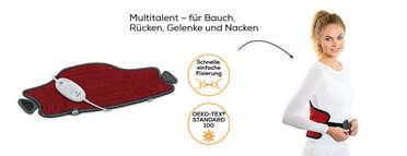 Beurer Heizkissen HK 55 Easyfix Produktbild