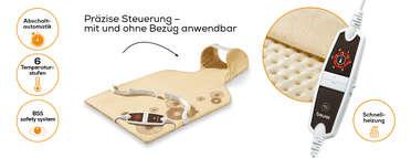 Beurer Rücken-/Nacken-Heizkissen HK 58 Cosy Produktbild