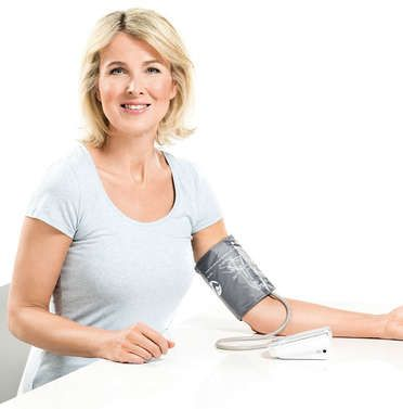 Upper arm blood pressure monitors