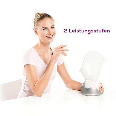 Beurer Gesichtssauna FS 50Anwendungsbild